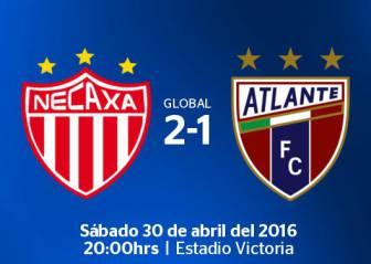 Necaxa vs Atlante EN VIVO: Ascenso MX, Semifinal Vuelta