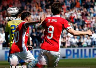 El PSV se aferra al sueño de la Eredivisie a falta de un juego