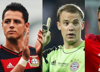 Chicharito, entre los nominados al 11 ideal de la Bundesliga