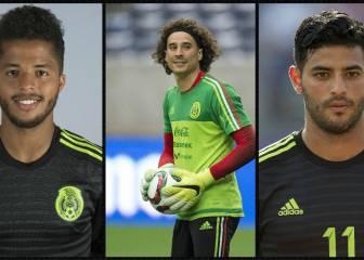 Giovani, Vela y Ochoa en la pre lista para Copa América