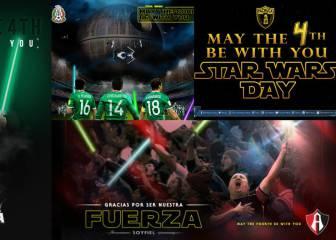 El fútbol mexicano se une a la celebración del Star Wars Day