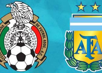 Selección Mexicana jugará contra Argentina en México