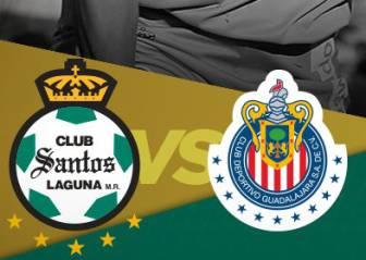 Santos vs Chivas EN VIVO: Liga MX, Jornada 17