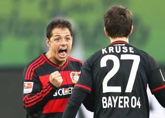 Javier Hernández se pierde el último partido del Leverkusen