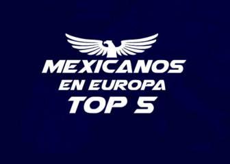 Los cinco jugadores mexicanos elegidos como AS de Europa
