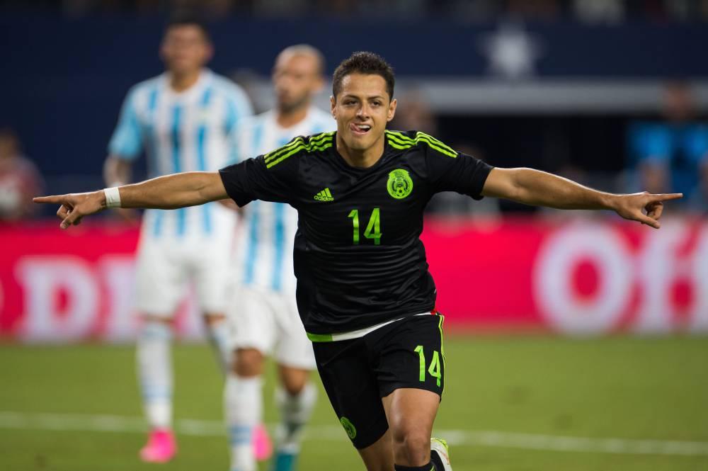 Los goles de Javier Hernández en la Selección Mexicana