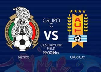 México 3 - 1 Uruguay: Resumen, resultado y goles