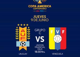 Uruguay vs Venezuela (0-1): Resumen del partido y goles