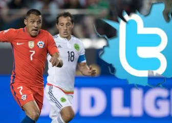 Derrota de México ante Chile rompe récords en Twitter