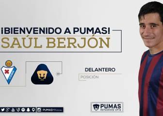 Pumas anuncia el fichaje de Saúl Berjón para el A2016