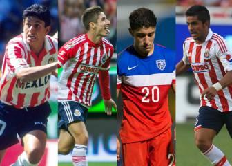 10 jugadores de Chivas que no nacieron en México