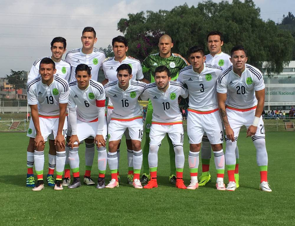 Selección Mexicana Olímpica  Tri Olímpico golea al América - AS México c7b1fa0cf8b4f
