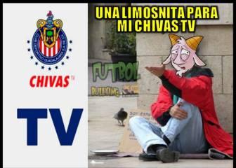 Chivas TV fue blanco de memes por su alto costo y fallar en su primera transmisión