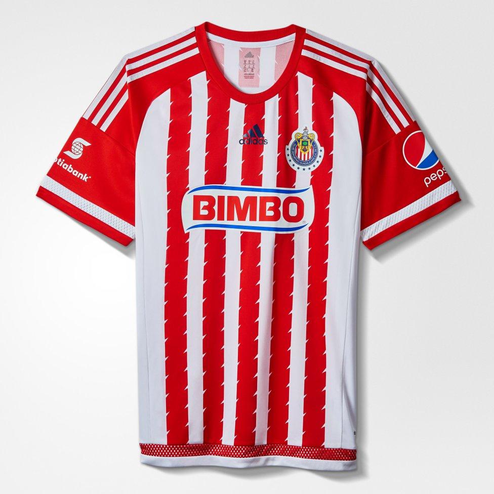 Las últimas 10 playeras rojiblancas de Chivas - AS México 1c077fec4b471