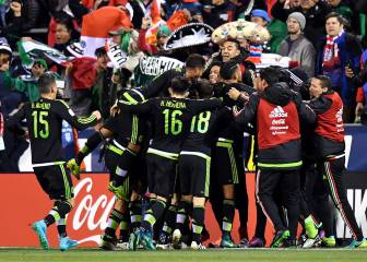 México vence por primera vez a Estados Unidos en Columbus