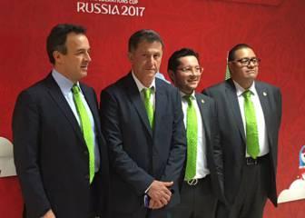 Osorio y compañía visitan sedes del Tri para la Confederaciones