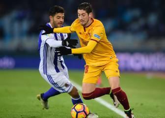 Sevilla aplasta a la Real Sociedad de Carlos Vela