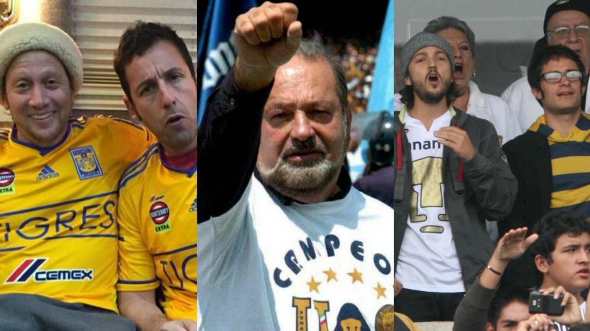 11 famosos que son fieles seguidores de algún club de Liga MX - AS México cc33e792801