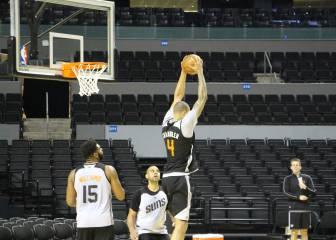 Suns y Mavericks ya entrenaron en la Arena Ciudad de México