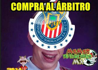 Chivas dejó ir la victoria y los memes no lo perdonaron