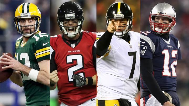 Póker mágico de quarterbacks en las finales de conferencia NFL