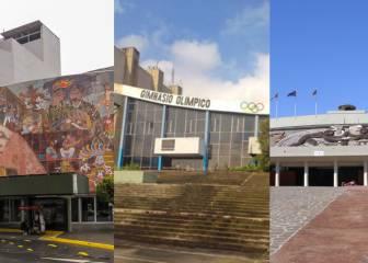 Así lucen actualmente las sedes olímpicas de México 68