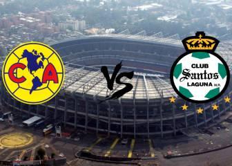 América vs Santos (3-2): Resumen del partido y goles