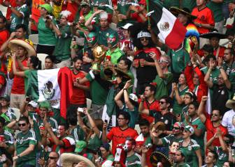 Crisis económica le pega a México en la Copa Confederaciones