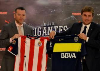 Para Boca Juniors, duelo ante Chivas será más que un amistoso