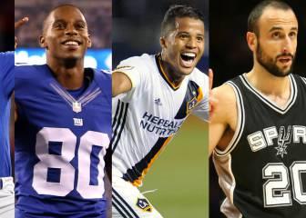 394 deportistas latinos al inicio del mandato de Donald Trump