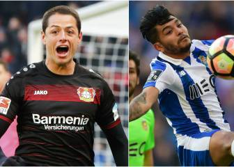 Chicharito y 'Tecatito' anotan y destacan con sus equipos
