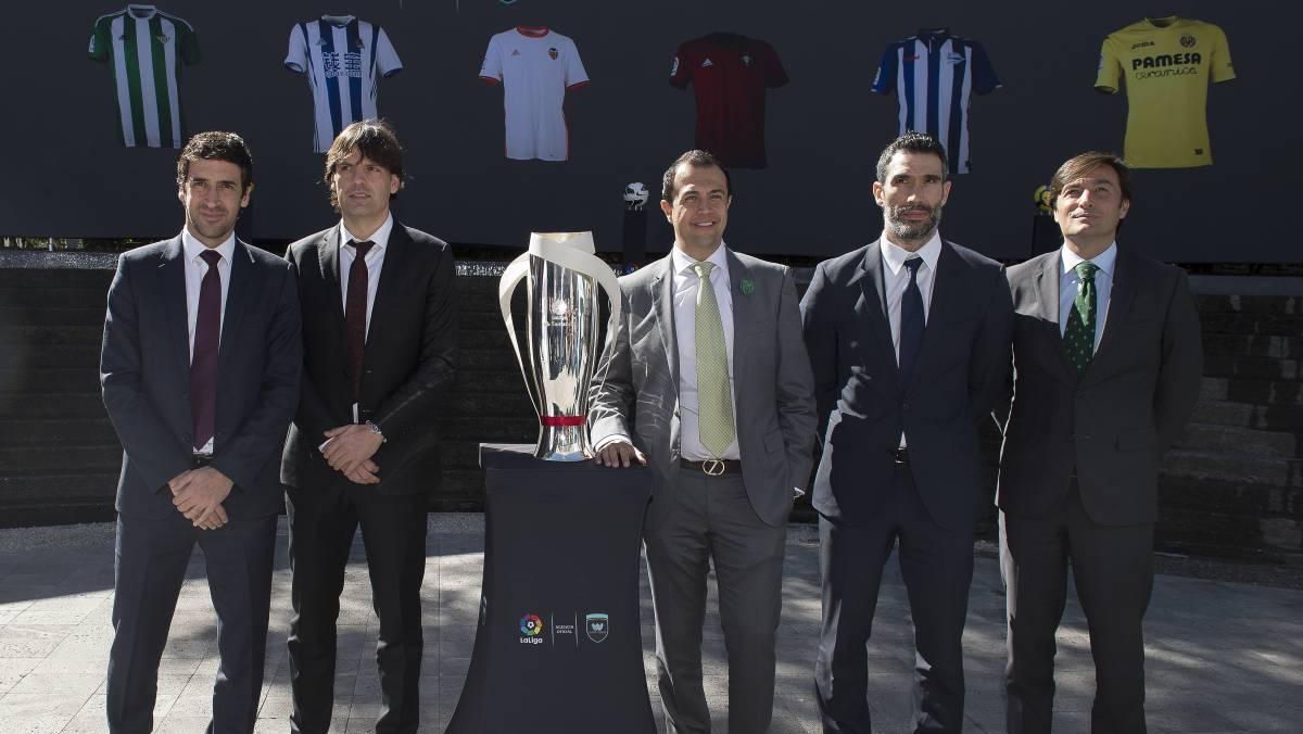 La Liga anuncia 'Juego de Leyendas' entre España y México
