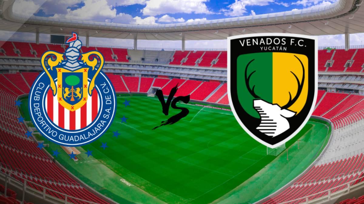 Chivas vs Venados en vivo online: Copa MX, Jornada 4, miércoles 15 de febrero de 2017 a las 21:00 horas de México.