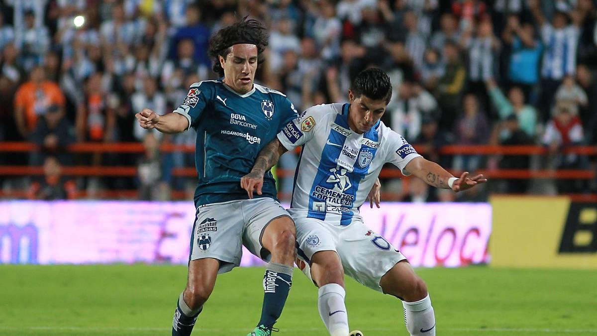 Monterrey derrotó a Pachuca y se mantiene invicto