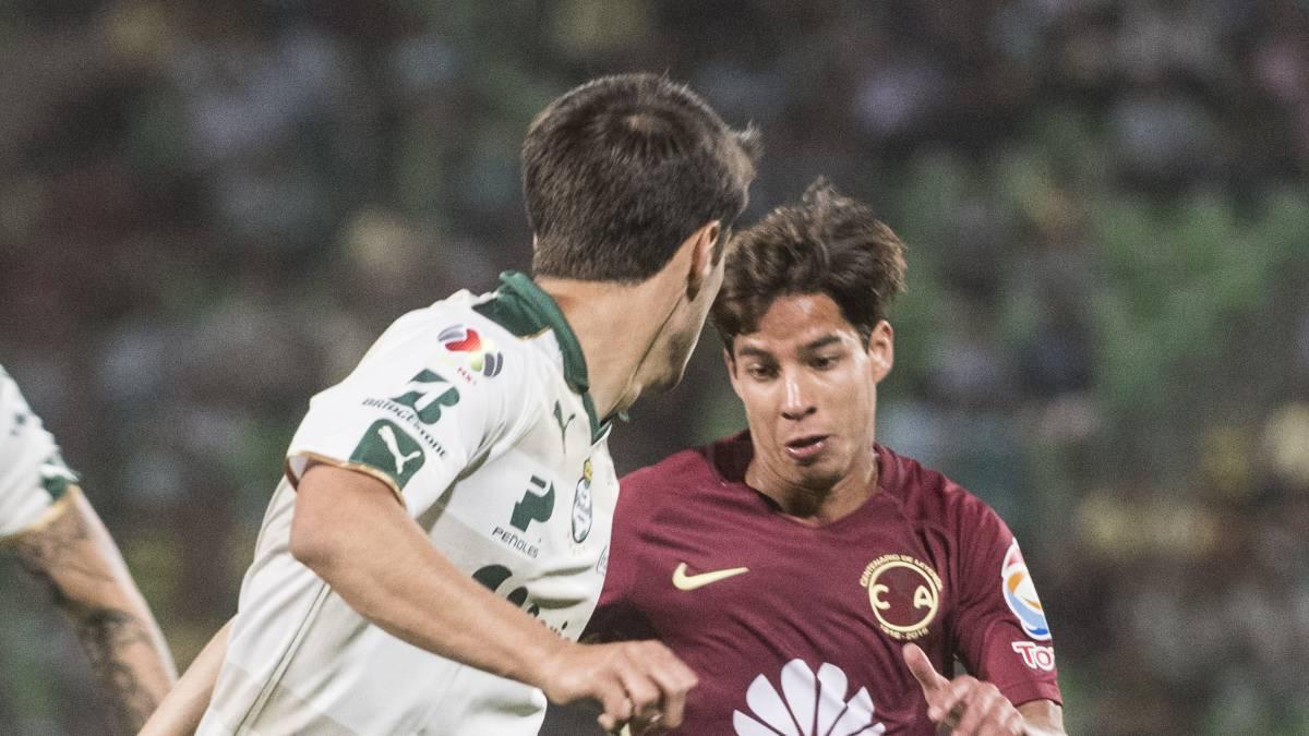 3b2cfed8191 Copa MX Diego Lainez hace su debut con América a sus 16 años - AS México