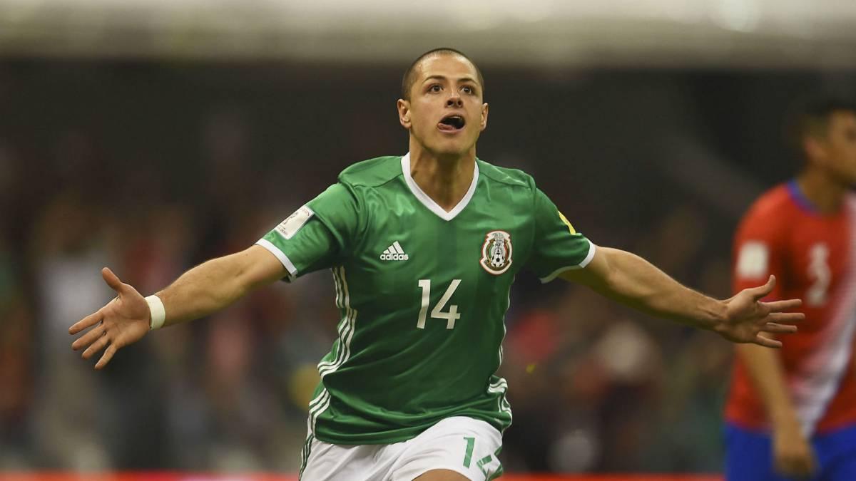 Gana México y Chicharito empata a Borgetti