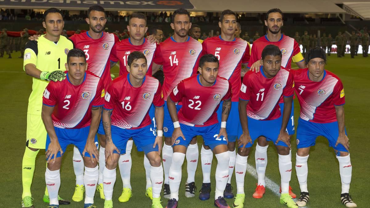 Resultado de imagen para seleccion de futbol de costa rica 2017