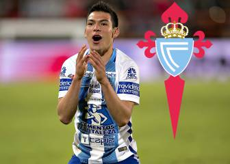 Agreement between Celta and Pachuca over Hirving Lozano
