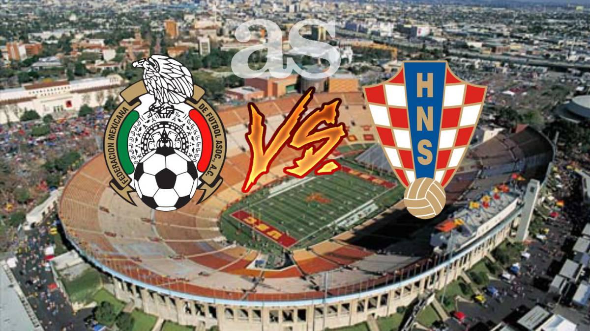 m 233 xico vs croacia 1 2 resumen y goles partido as