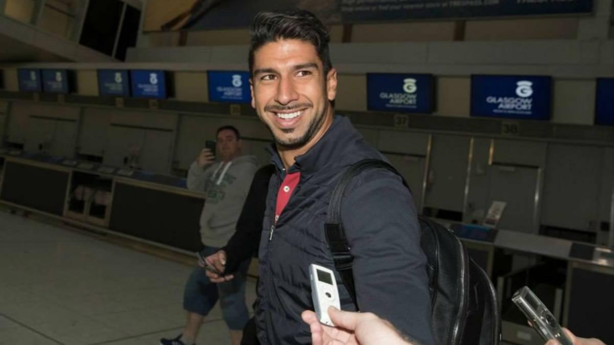 Lalo Herrera llega a Escocia para concretar su pase al Rangers