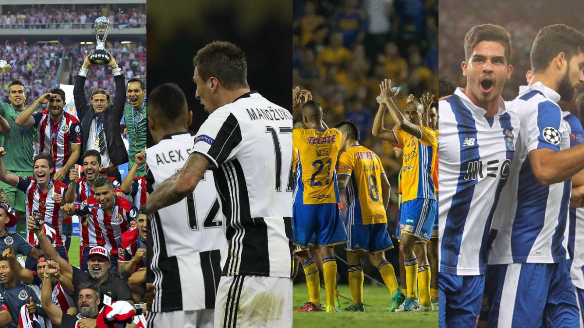 Precios exorbitantes para partidos de Juventus y Porto en México