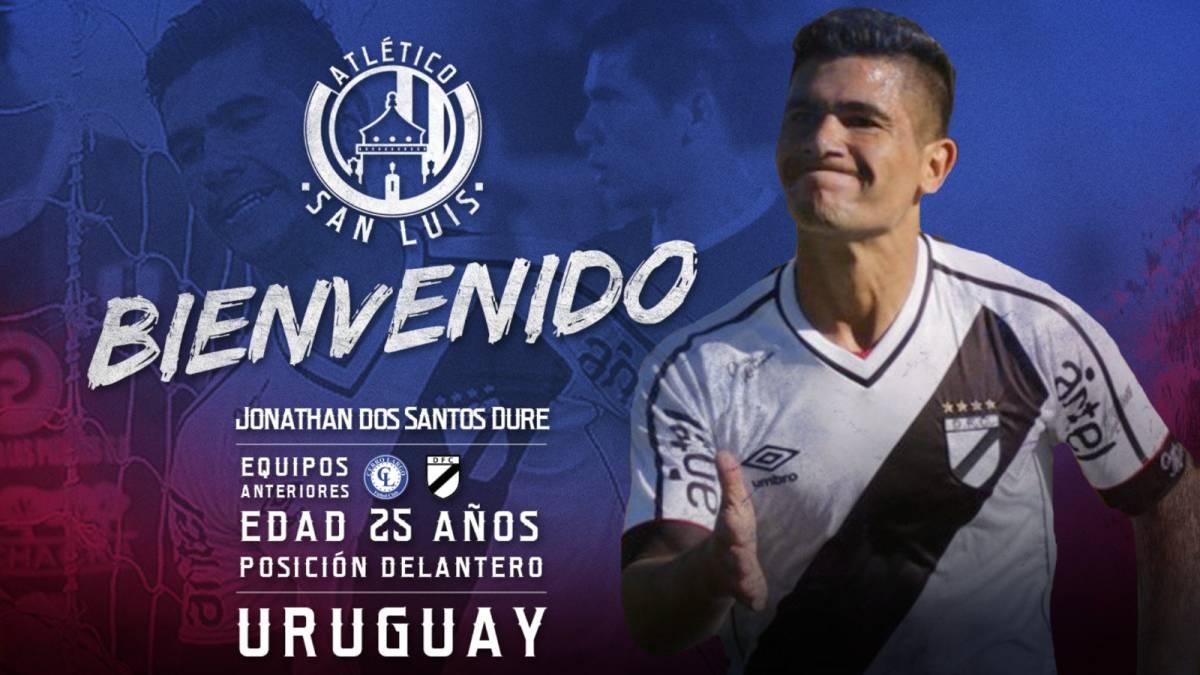 Atlético San Luis ficha a Jonathan Dos Santos — OFICIAL