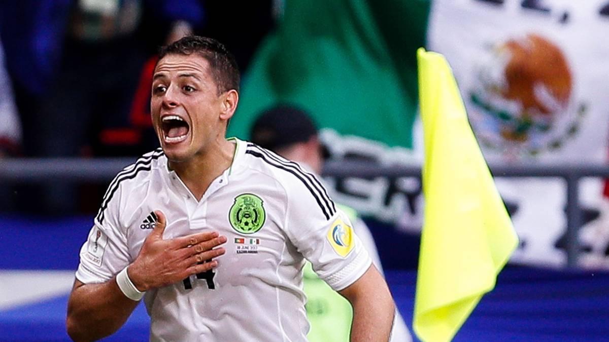 Chicharito empata el partido; México 1-1 con Portugal