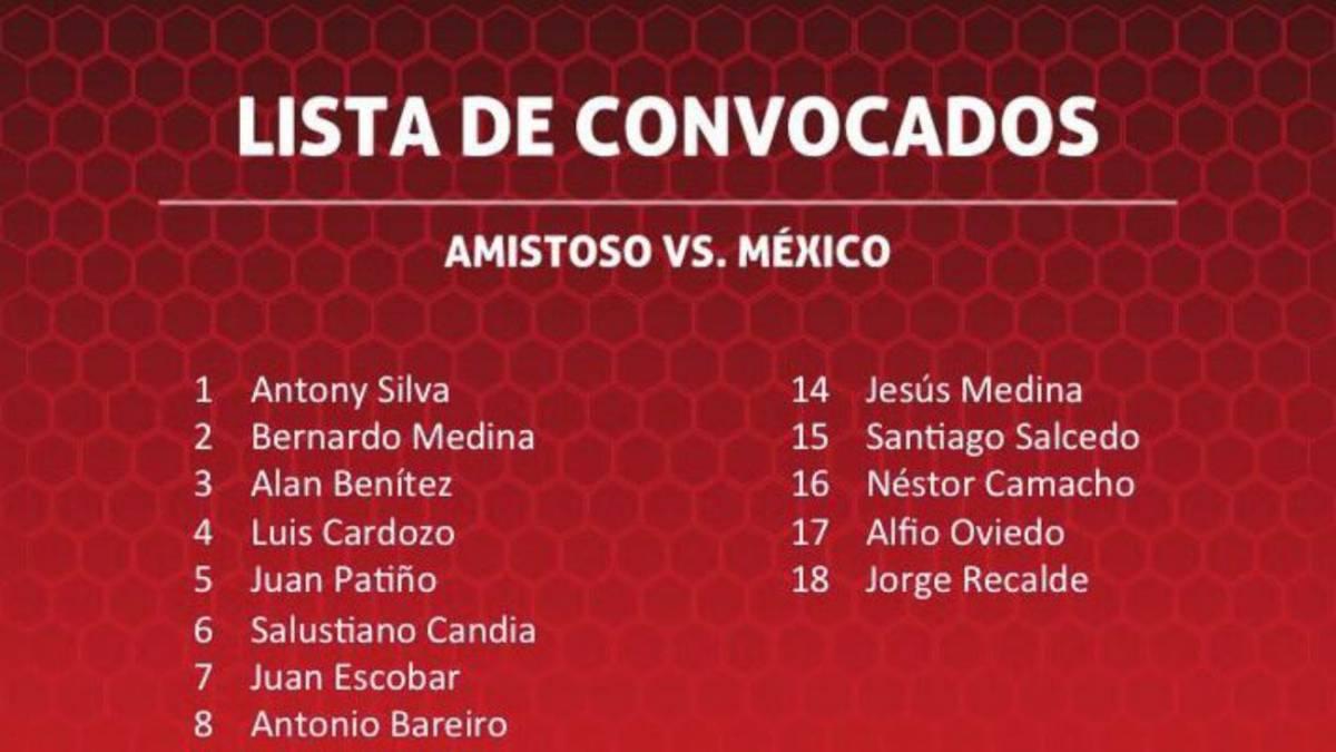 La convocatoria para medir a México — PARAGUAY