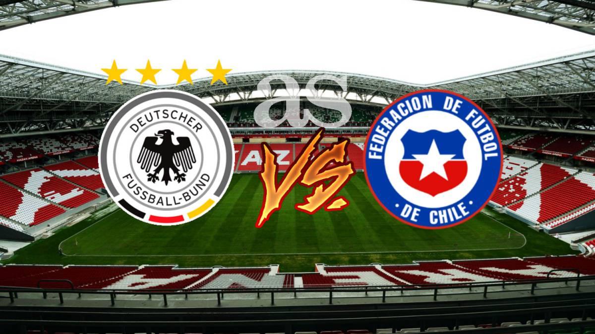 Alemania ganó, Chile empató, ambos pasaron a semifinales