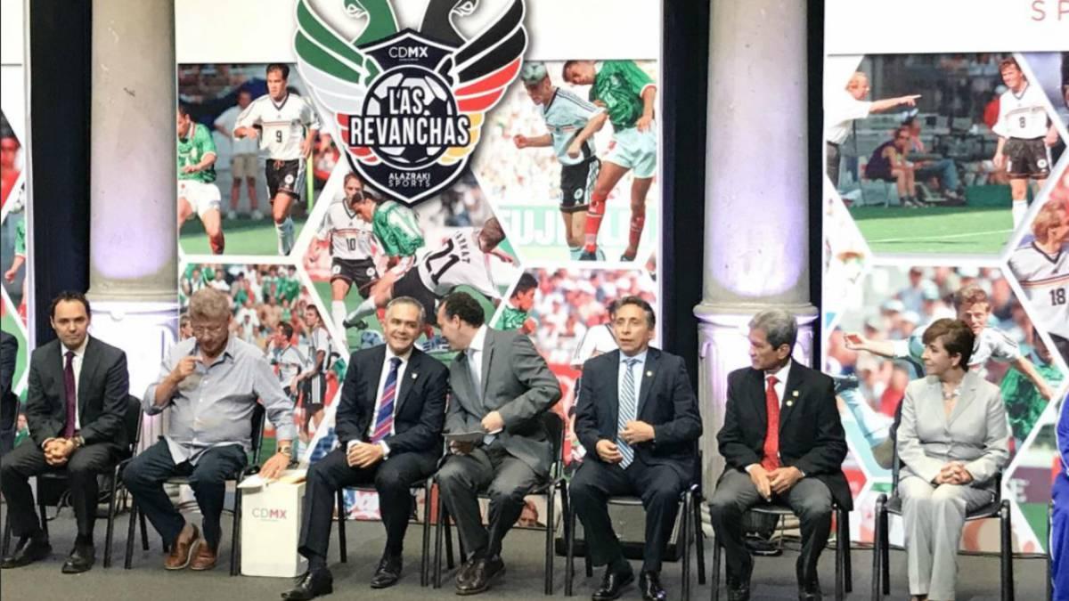 México vs Alemania jugarán la 'revancha' en el Zócalo