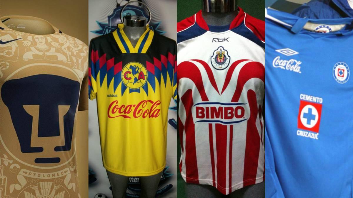 9071481fdfb5e México Las camisetas más bonitas del fútbol mexicano - AS USA