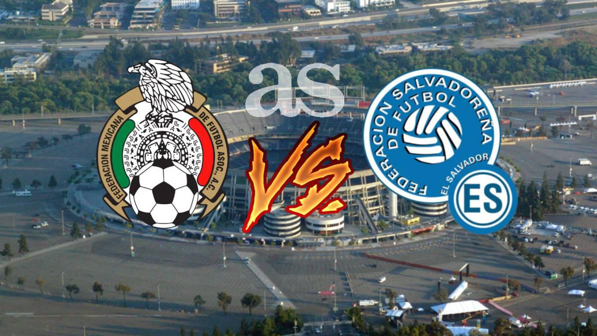 México vs El Salvador en vivo: Dónde ver el juego