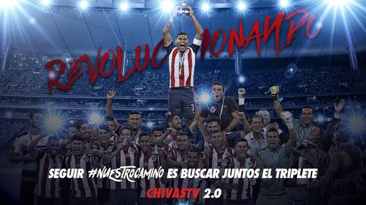 Chivas lanza oficialmente nueva versión de Chivas TV