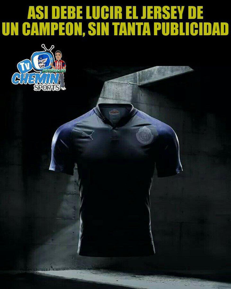 Los memes se burlan de los nuevos uniformes de Liga MX - AS México 9115132766b1b